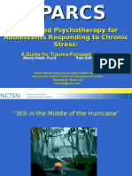 structured psychotherapy for adolescents responding to chronic stress (sparcs) - mandy habib and ruth de rosa
