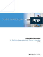 A Guide to Assessing SQL Licensing