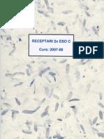 RECEPTARI 2n ESO C
