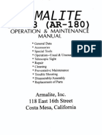 & Maintenance Manual