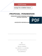 Proposal Penawaran Kerjasama TI