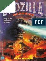 Godzilla 01 - Godzilla Returns - Marc Cerasini