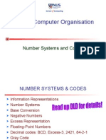 Cs2100 2 Number Systems and Codes