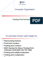 Cs2100 9 Floating Point