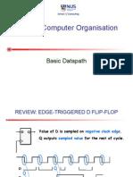 Cs2100 12 Basic Datapath