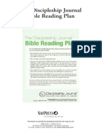 Discipleship Journal - Bible Reading Plan