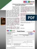 Studi Potensi Bisnis dan Pelaku Utama Industri PLYWOOD di Indonesia, 2015‐2019