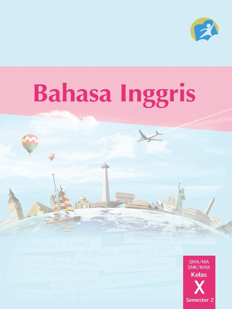 Buku Pegangan Siswa Bahasa Inggris SMA Kelas 10