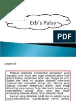1. Erbs's Palsy