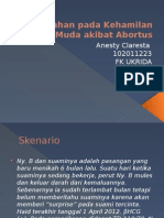 PBL Blok 25 - Abortus Spontan
