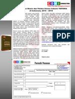 Studi Potensi Bisnis dan Pelaku Utama Industri TAPIOKA di Indonesia, 2015 – 2018