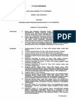 Kepdir Nomor 0620 K DIR 2013 Pedoman Umum Pengadaan Barang Jasa PLN 0620