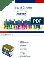 Habits of Conduct