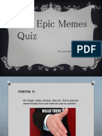 Epic Memes Quiz