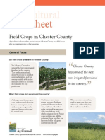 Ag Info Sheet - Field Crops In Chester County