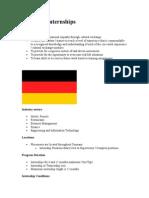 Germany Internships
