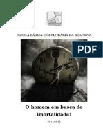 Imortalidade - Trabalho Português