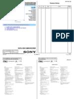 Sony DCR-SX33E Service Manual