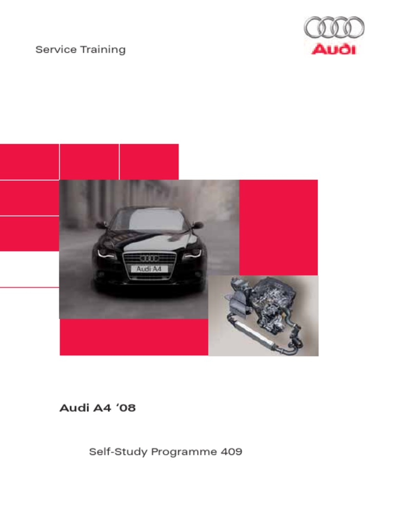 Ssp 409 Audi A4 08 Airbag Headlamp