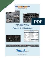 737-800 Panels Checklists
