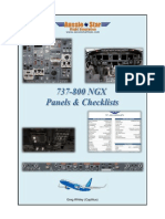 737-800 Panels Checklists