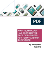 How Technology Has Changed The Face Of Business For Today And For The Future