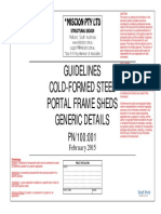 Generic Connection Details Cold-formed Steel Structures