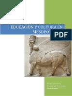 Educación y Cultura en Mesopotamia
