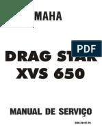 Manual Servicos XVS 650 Dragstar