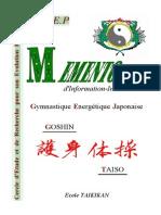 Goshin Taiso