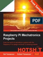 Raspberry Pi Mechatronics Projects HOTSHOT - Sample Chapter