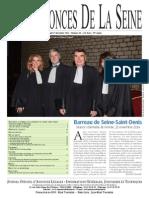 Edition du Lundi 1 Decembre 2014
