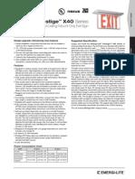 El 157d 01 Arc x40 Spec 20-6-2014 Specification Sheet