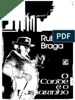 O Conde e o Passarinho - Rubem Braga