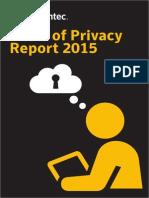 Informe sobre el Estado de la privacidad en Europa de Symantec