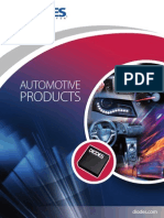 Diodes Automotive Brochure 2014