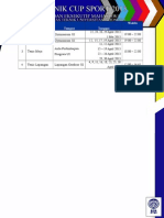 Timeline Cabang TC 2013 Rektorat