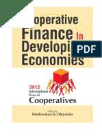 Cooperative Finance in Developing Economies
