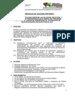 Directiva Pela 2015 Ugel