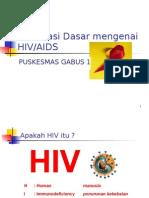 definisi dan pencegahan penularan Hiv Aids