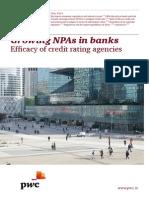 Growing Npas in Banks(1)