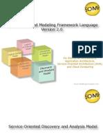Service Orietated Modelling Framework