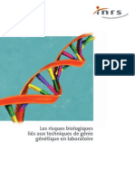 Risque de la biologie moléculaire
