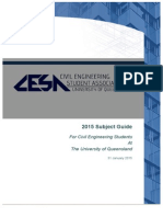 2015 CESA Subject Guide