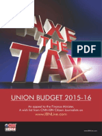 Axe the Tax Booklet