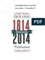 2015 Budget (City of Troy, Ohio)