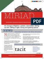 MIRIAD Newsletter v2