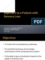 1 - Olds - Approach to a Patient With Sensory Loss