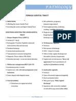 Female Genital Tract II