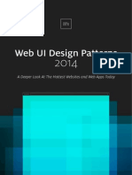 Uxpin Web Ui Design Patterns 2014